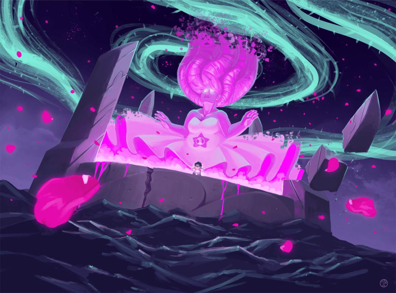 Rose Quartz Steven Universe Wallpapers Wallpaper Cave