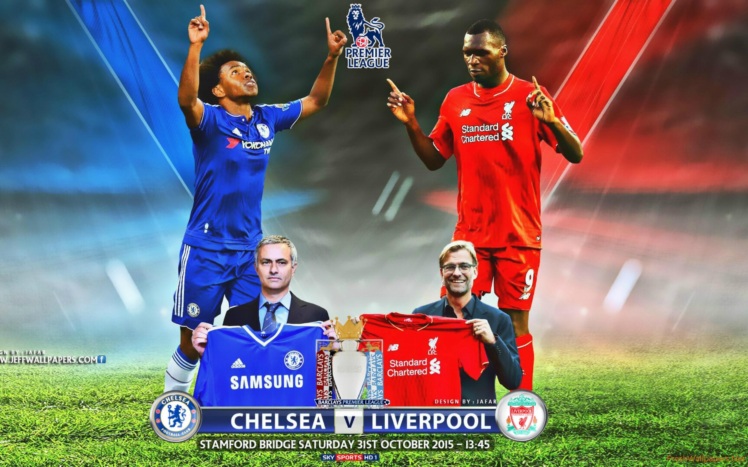 Download Wallpaper Liverpool Vs Chelsea HD