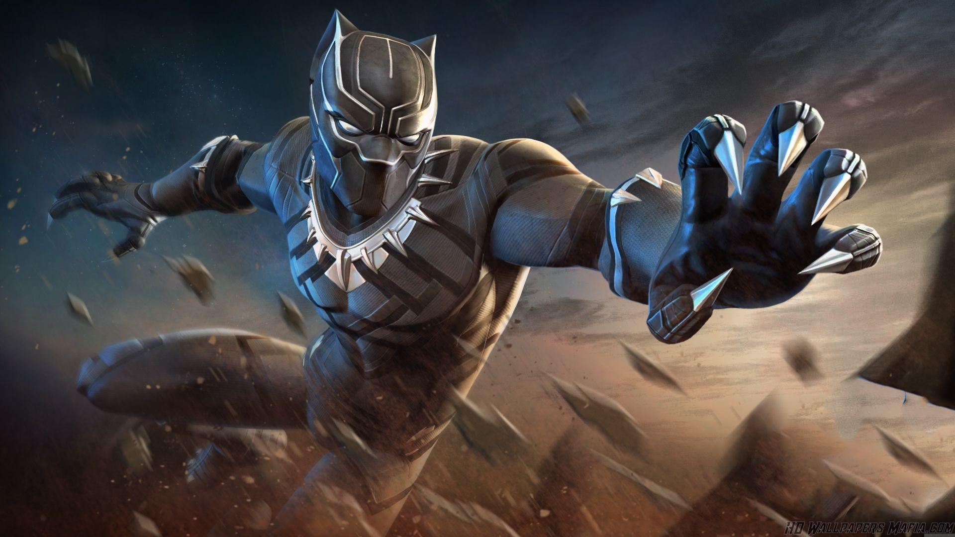 Black Panther 4k Wallpapers Wallpaper Cave