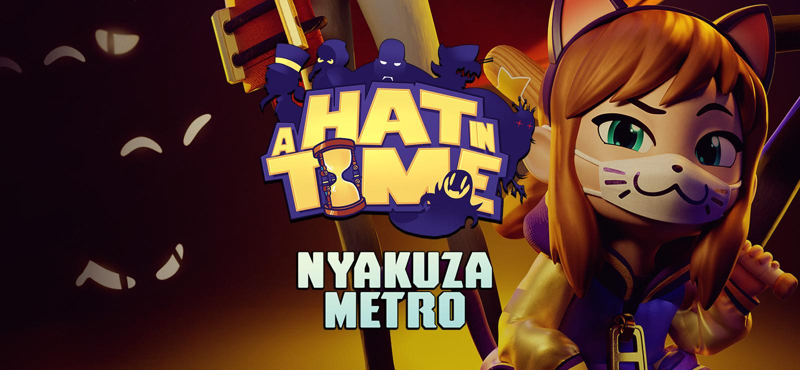 A Hat In Time Nyakuza Metro Wallpapers - Wallpaper Cave