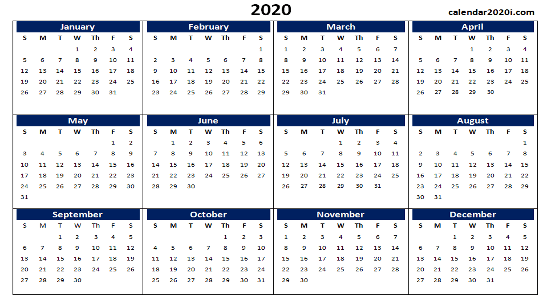 Calendar Wallpaper 2020 2020 Calendar Wallpapers   Wallpaper Cave