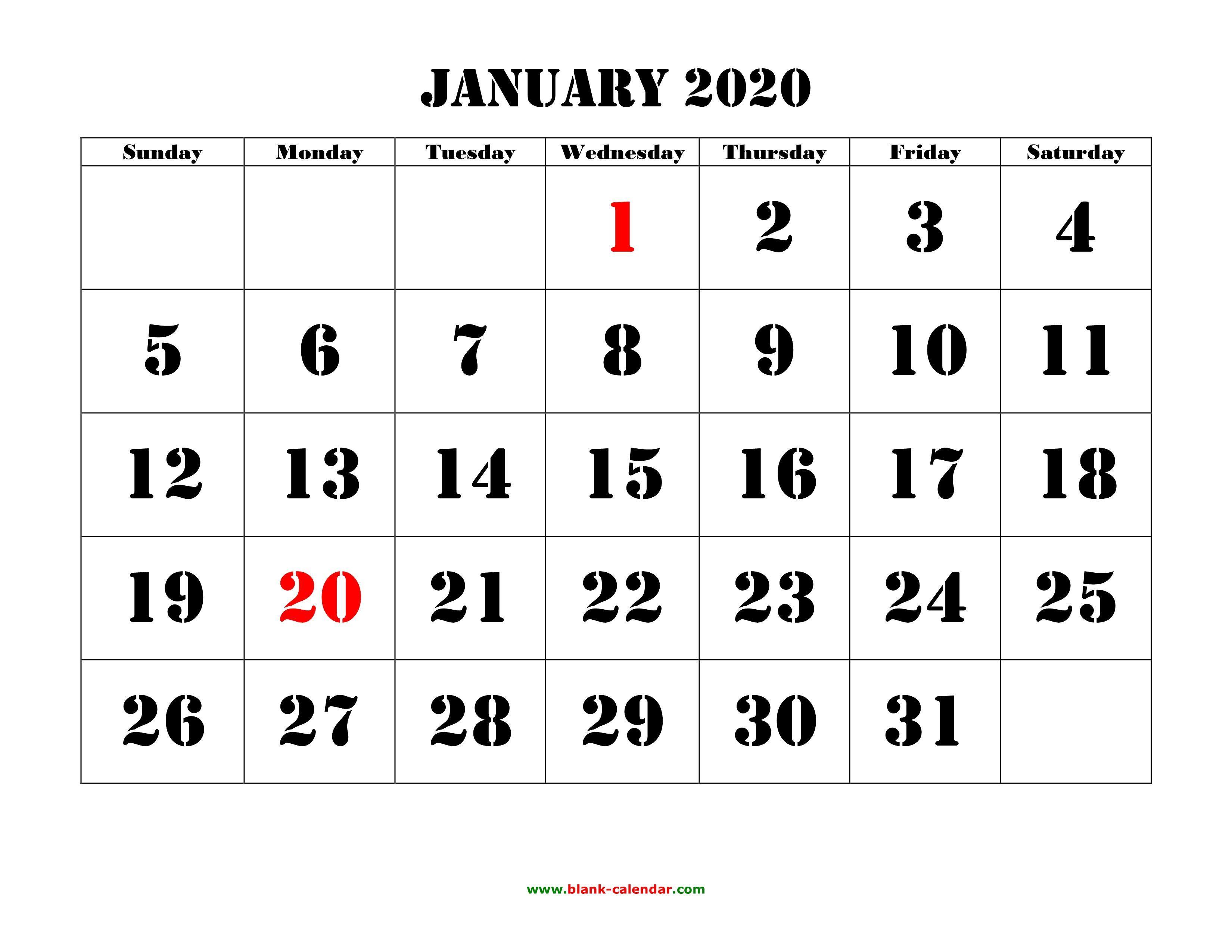January 2020 Calendar Word 2020 Calendar Wallpapers   Wallpaper Cave