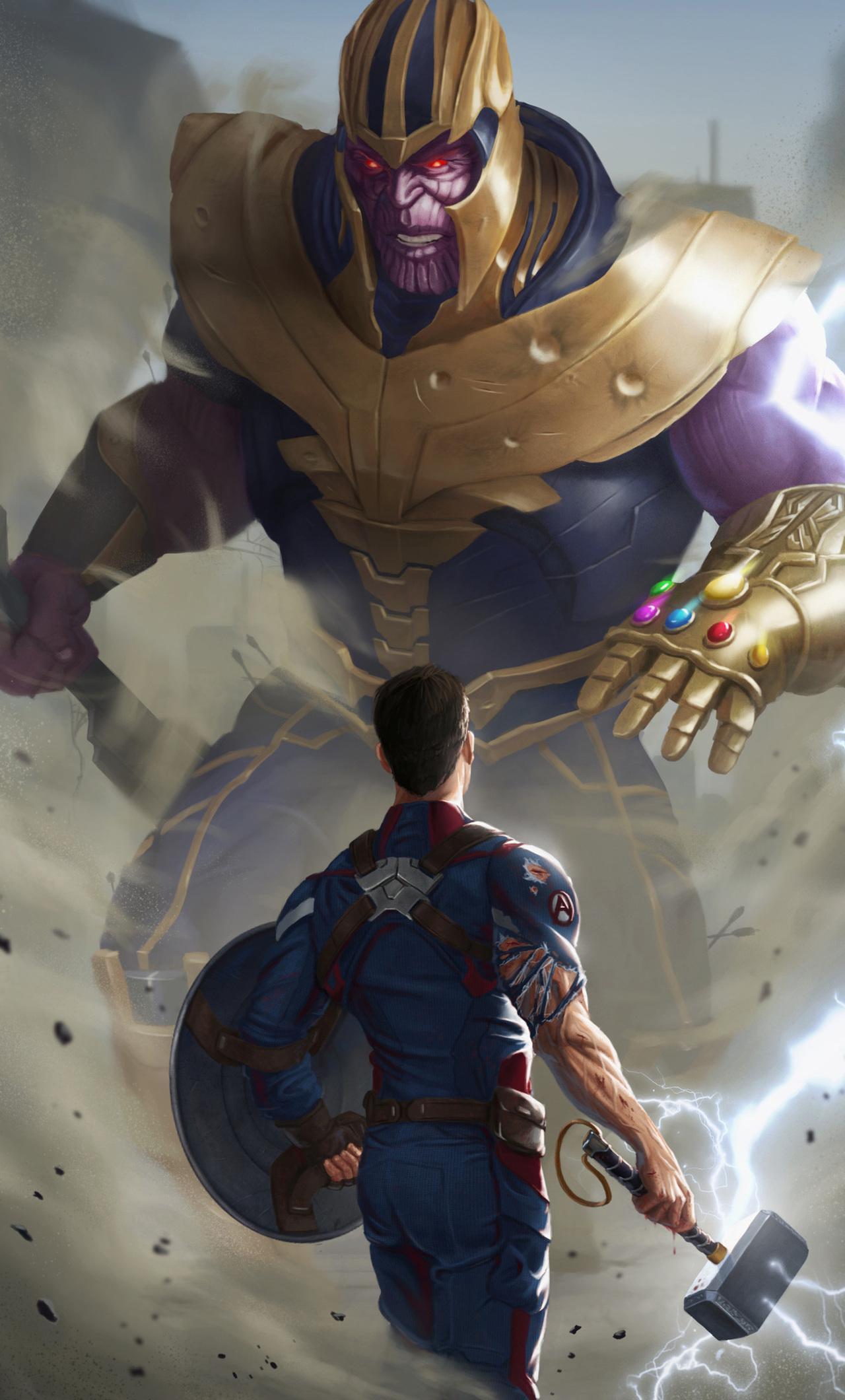 Captain America Hammer Wallpapers Wallpaper Cave