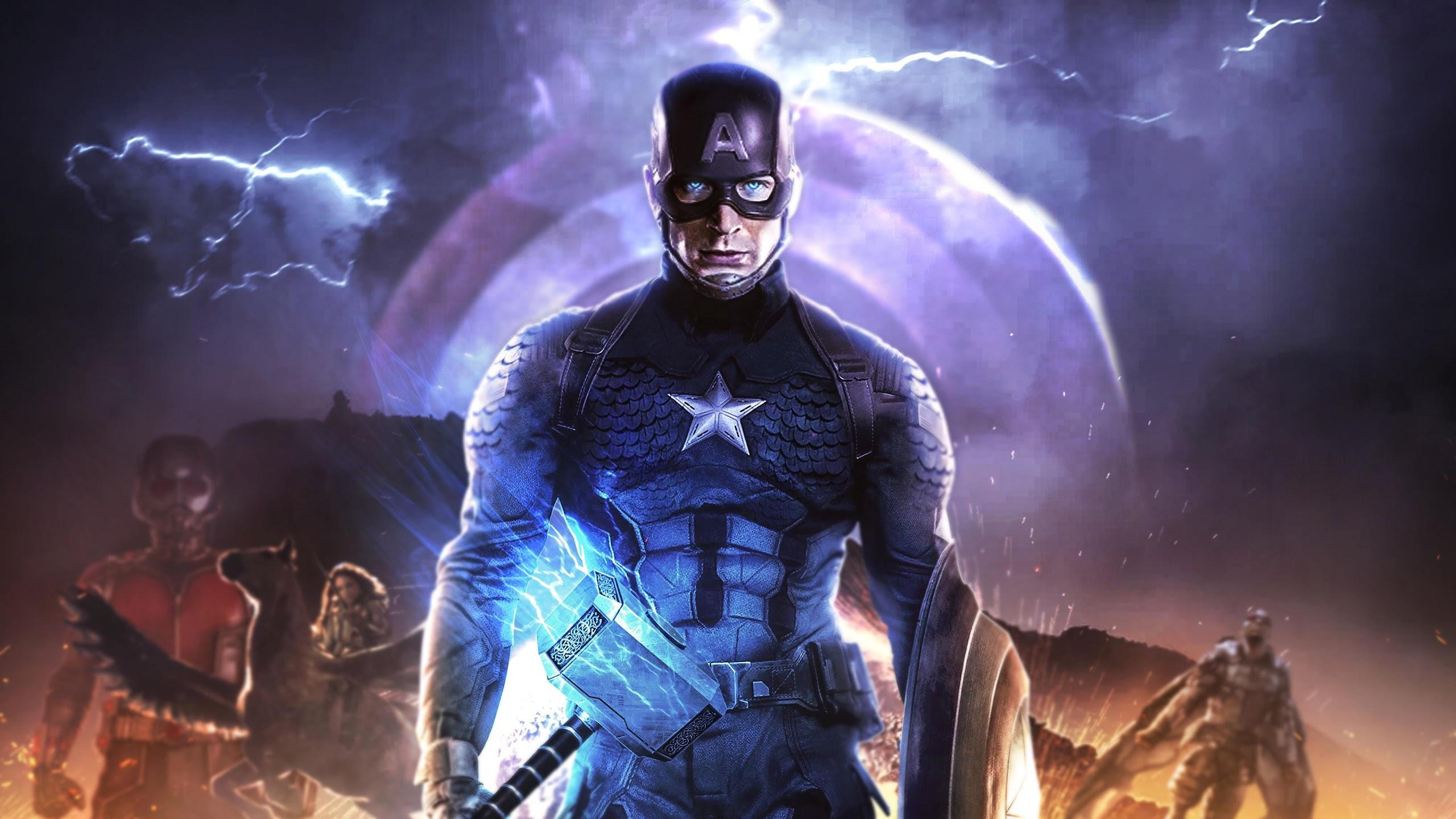 Captain America Hammer Wallpapers - Wallpaper Cave