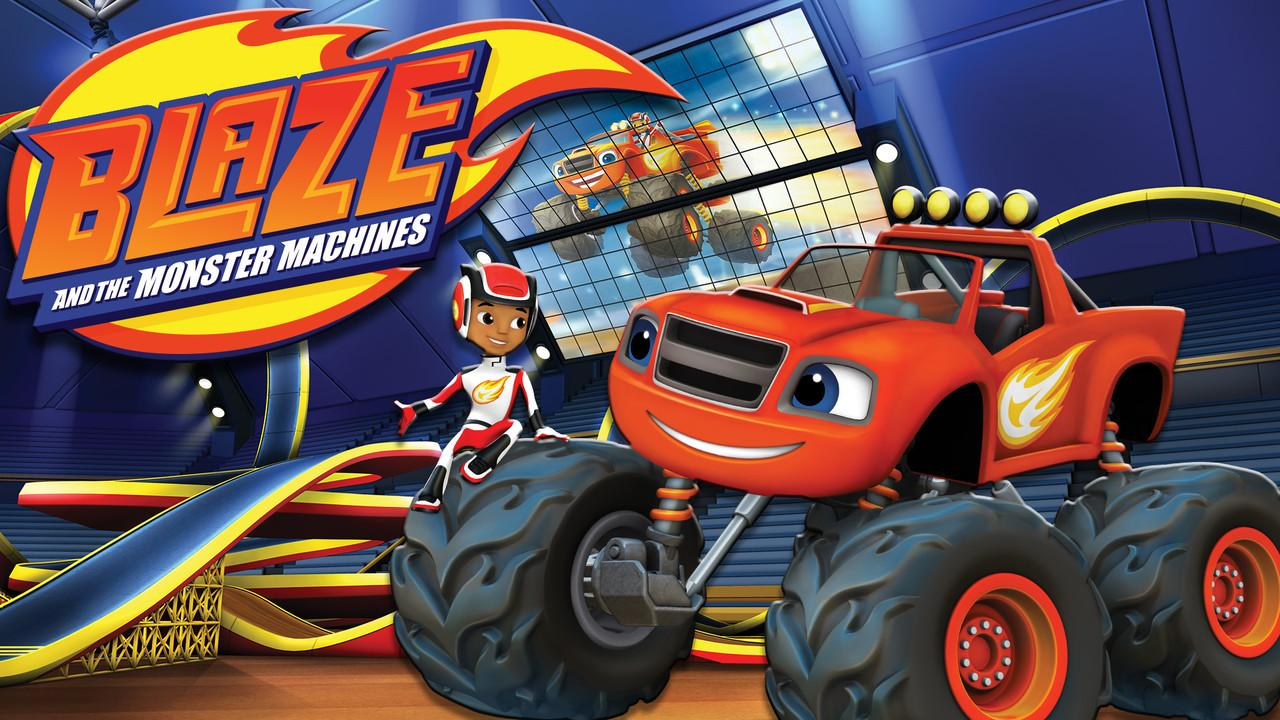 It is a graphic of Handy Pictures of Blaze and the Monster Machines