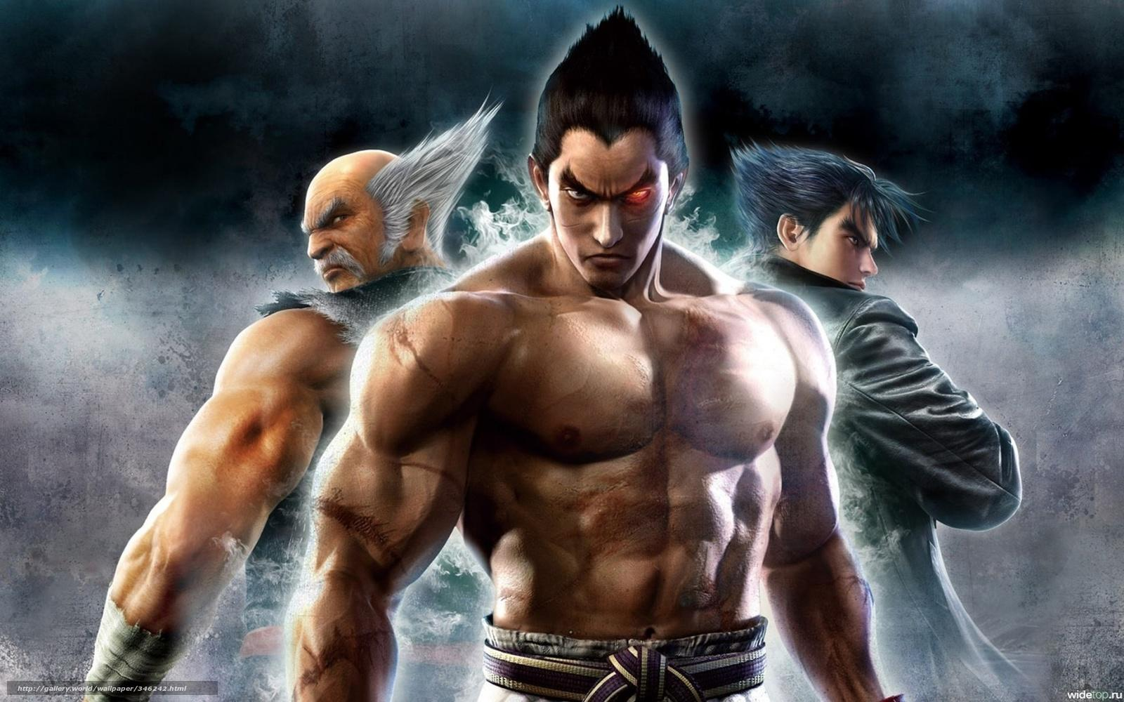 Download wallpaper Tekken, Jin Kazama, Kazuya Mishima, fighters free ...
