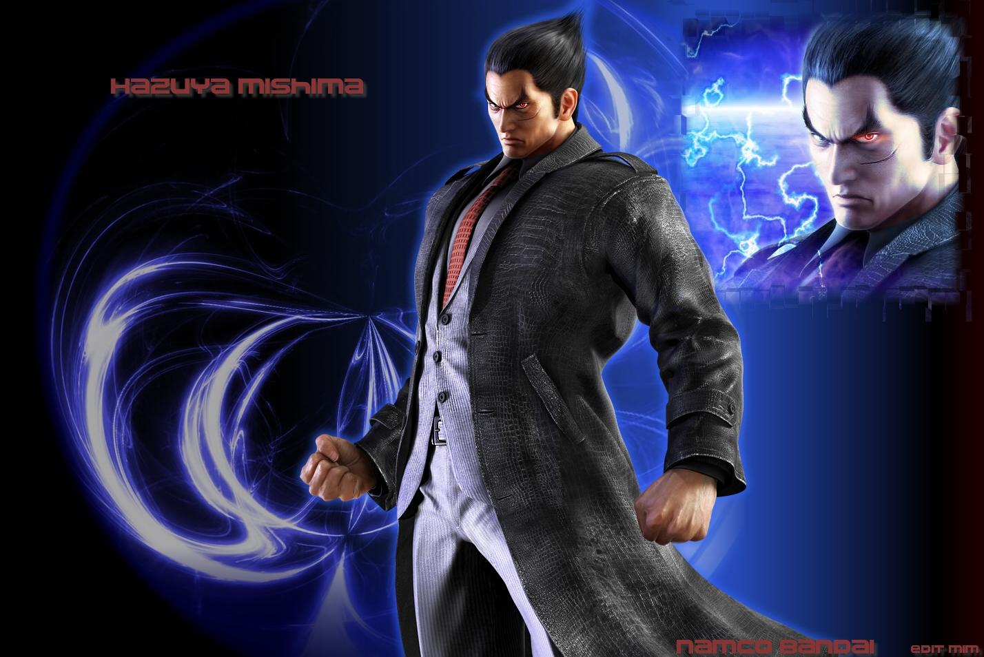 Group of Customized Wallpapers Kazuya Mishima