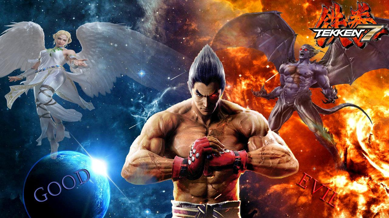 Group of Kazuya Mishima By Dragonwarrior