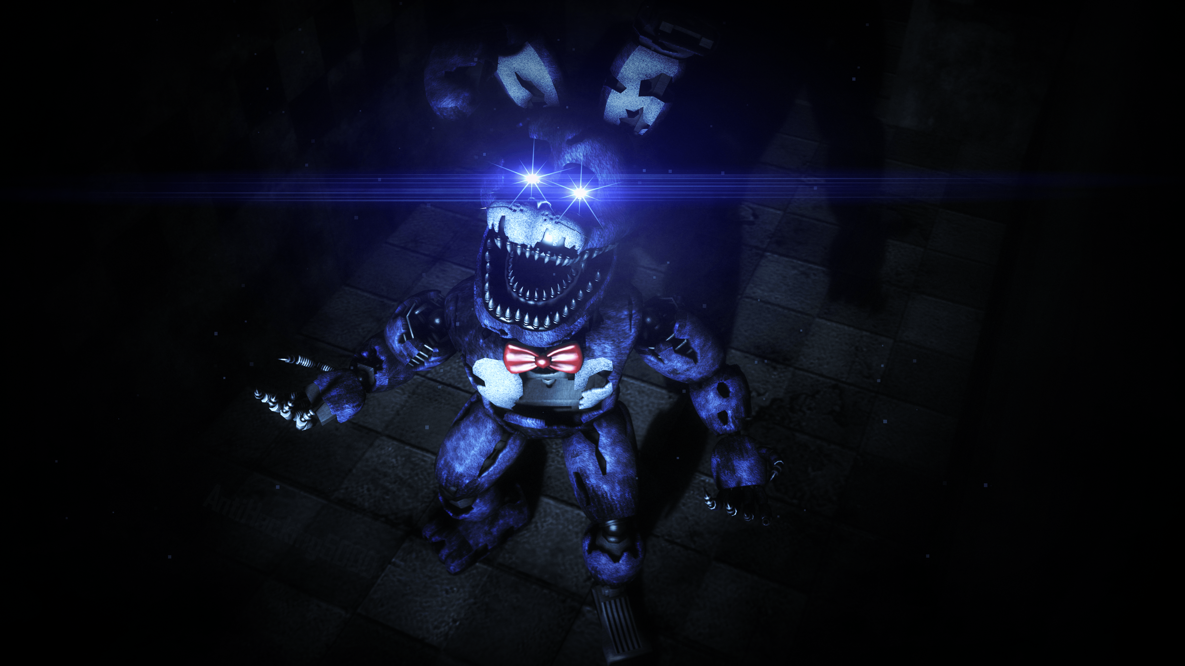 Five Nights At Freddy S 4 Nightmare Bonnie Wallpapers Wallpaper Cave