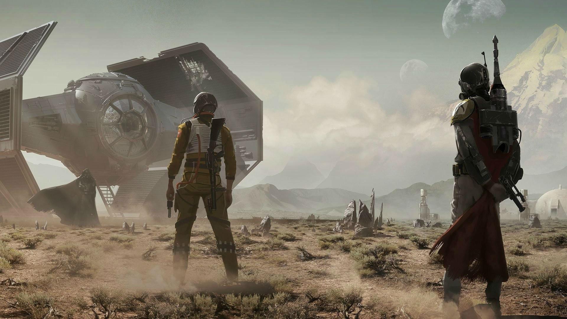 The Mandalorian Star Wars TV Series Wallpapers - Wallpaper ...