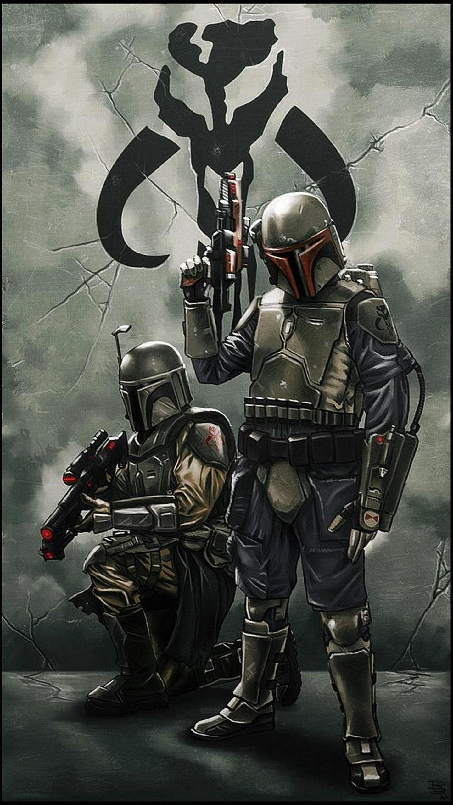 Star Wars Phone Mandalorian Wallpapers Wallpaper Cave