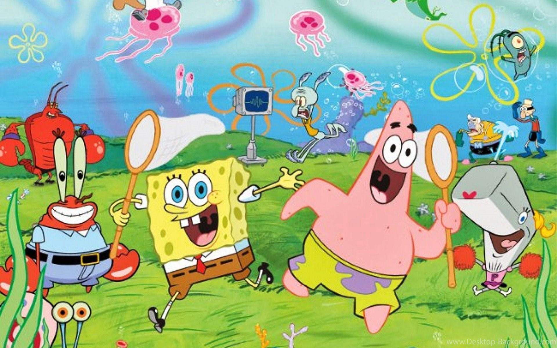 Spongebob And Friends Wallpapers Wallpaper Cave