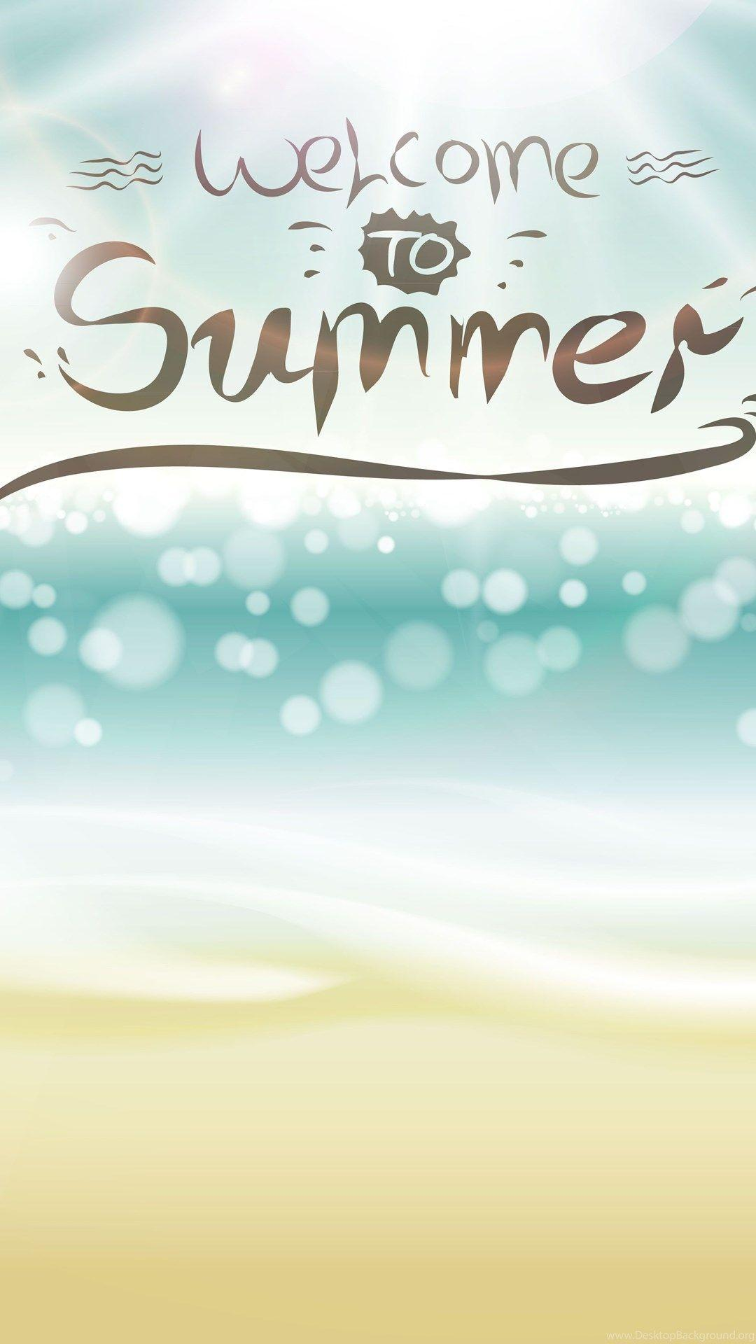 Hello Summer iPhone Wallpaper Free Download | iPhone Wallpaper in ...