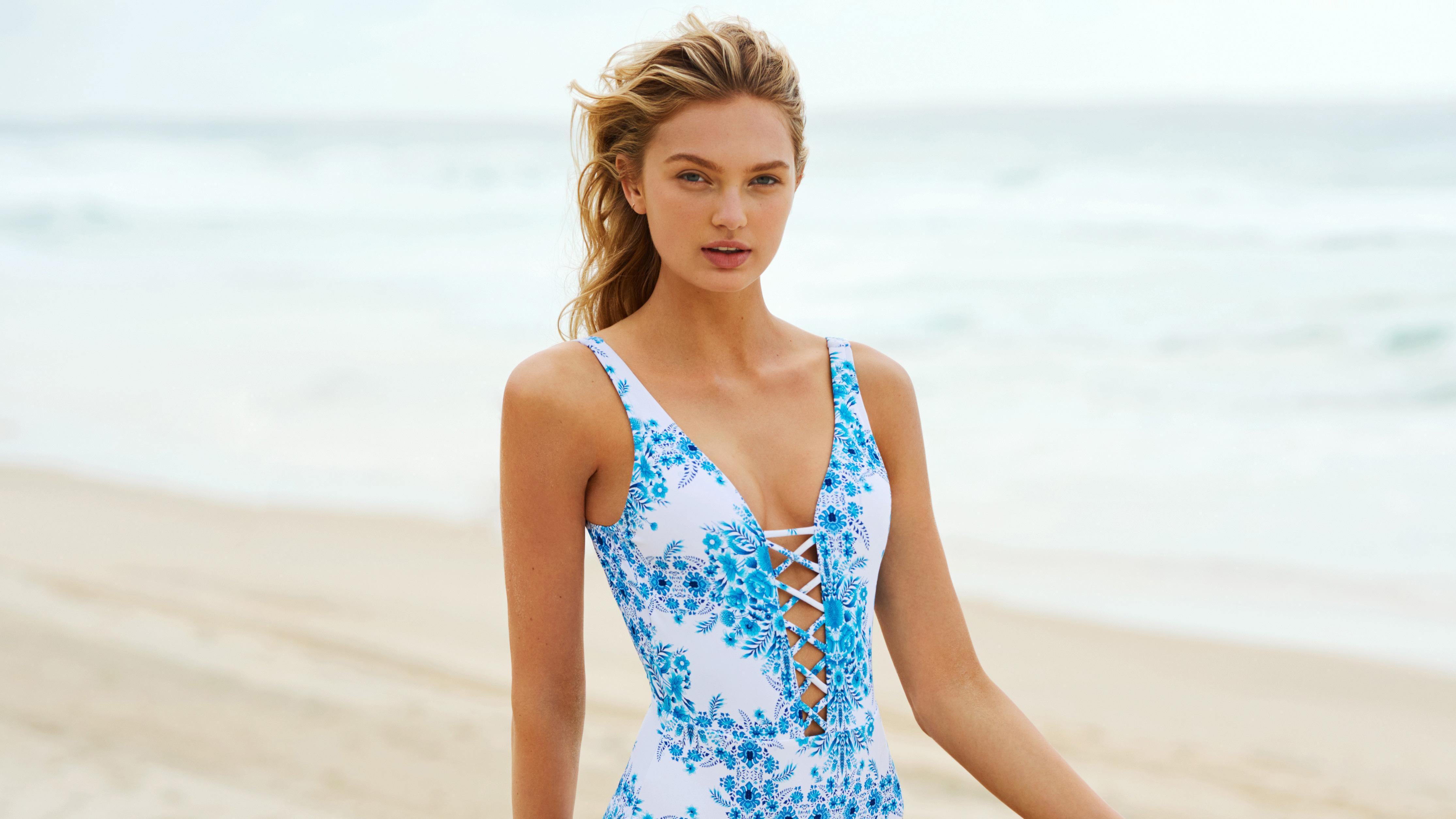 Romee Strijd Seafolly Summer 2019 Campaign 4k, HD Celebrities, 4k ...