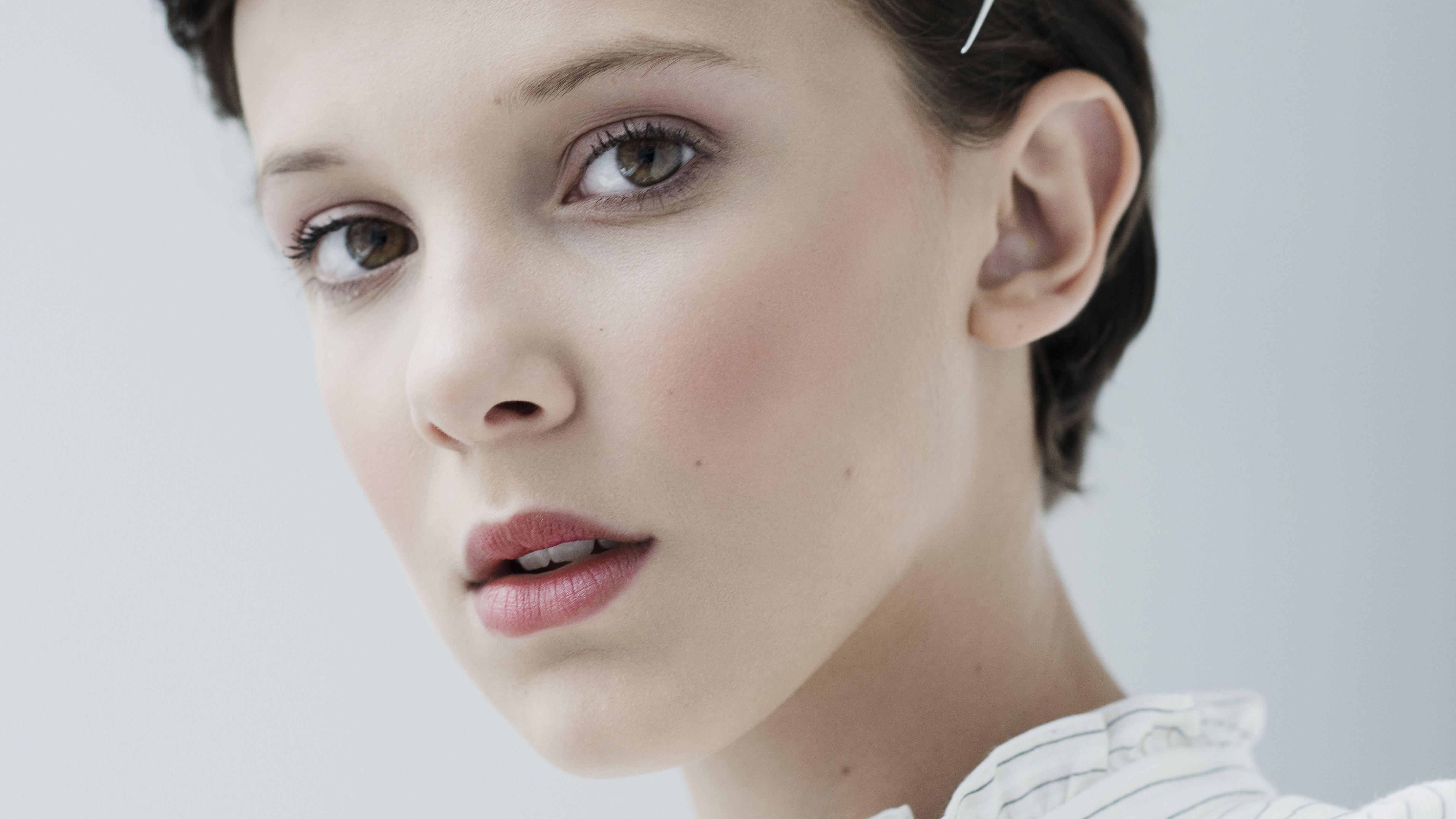 1360x768 4k Millie Bobby Brown Laptop HD HD 4k Wallpapers, Image