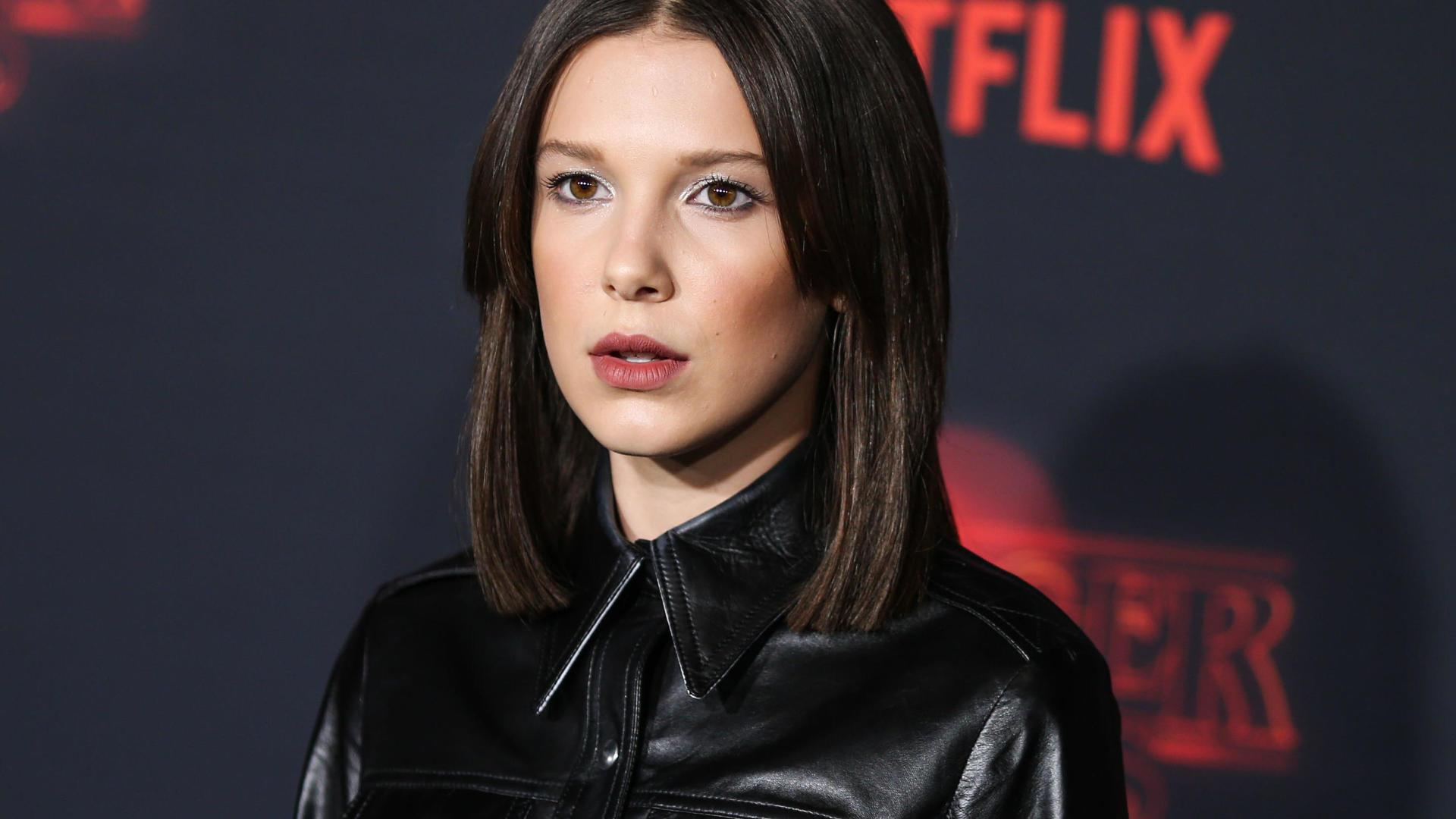 1920x1080 Millie Bobby Brown Stranger Things Event 2017 1080P Laptop
