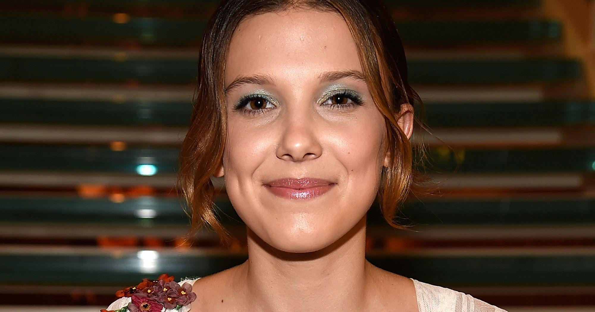 Millie Bobby Brown Has Blonde Hair At Godzilla Premiere