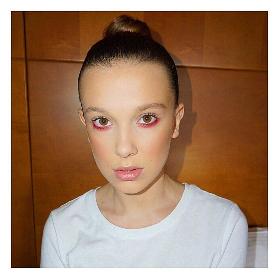 Millie Bobby Brown's Red Eyeliner, Camila Cabello's Blue Braids, and