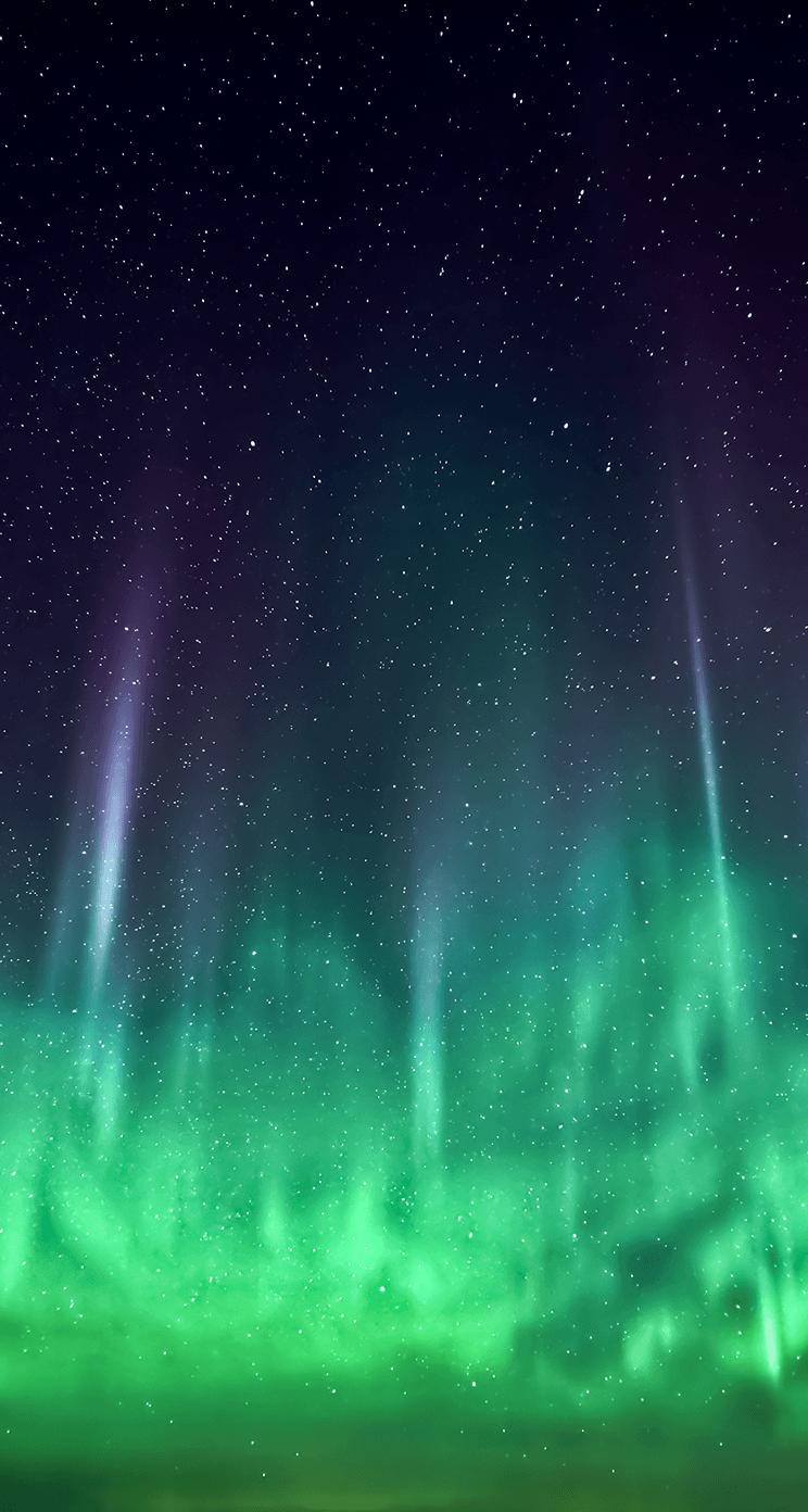 Download the new iOS 7 wallpapers now