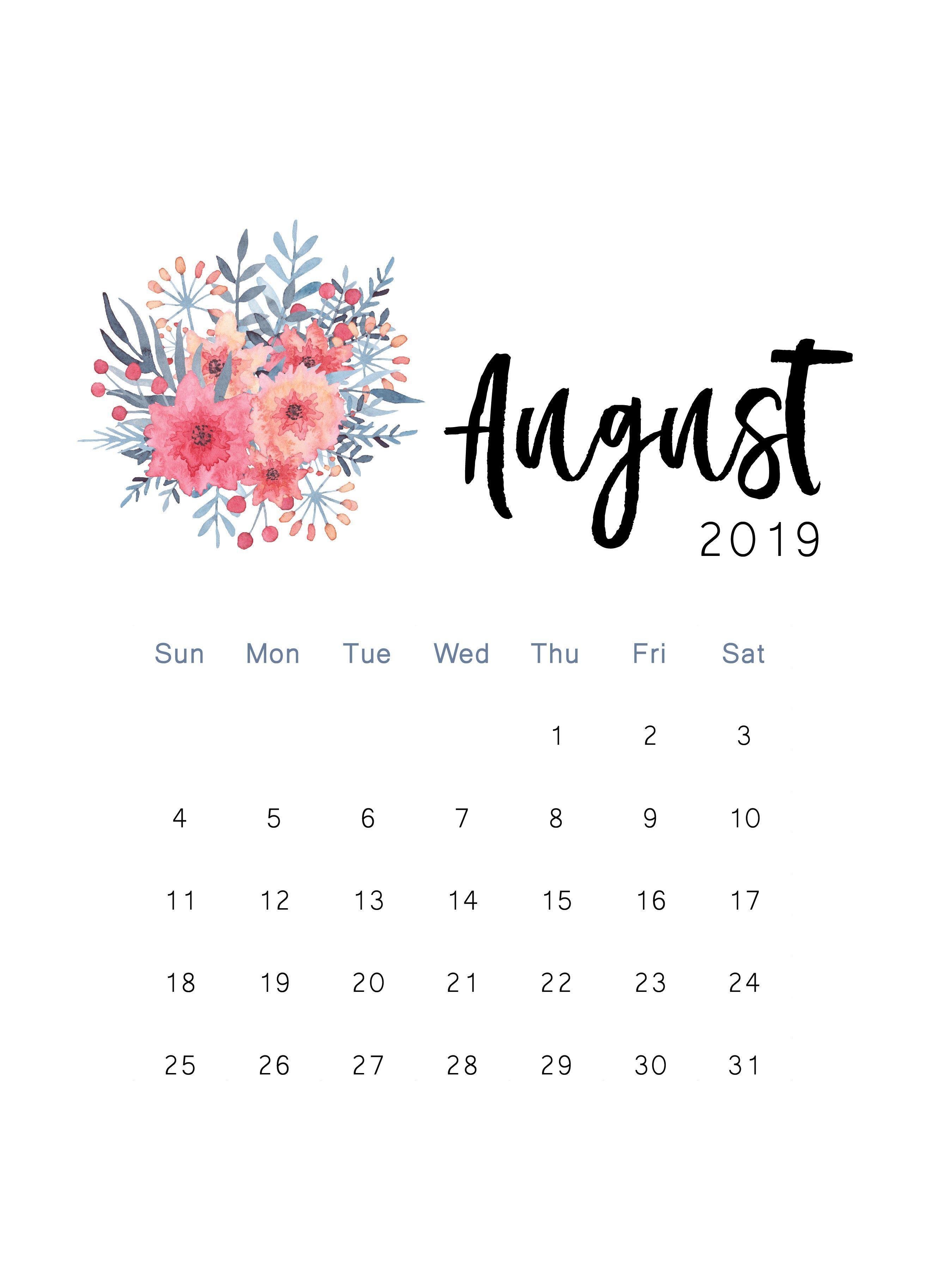 It is a graphic of Gargantuan August Printable Calendars