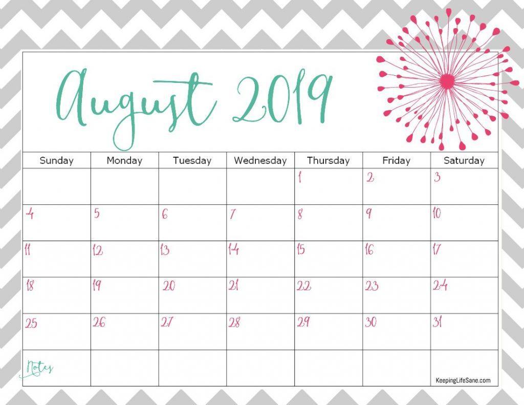 August 2019 Calendar.August 2019 Calendar Wallpapers Wallpaper Cave