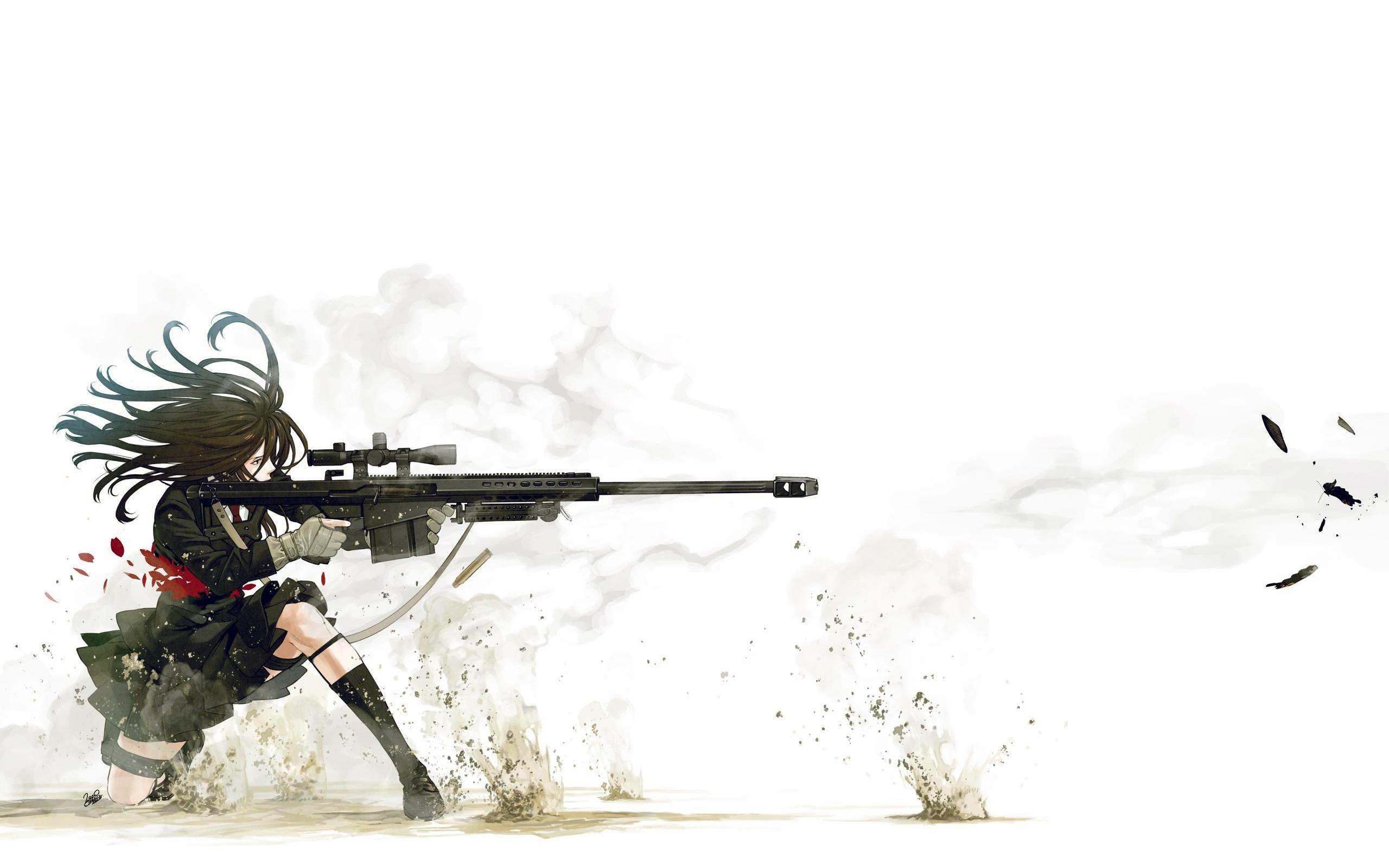 Anime Sniper HD Wallpapers - Wallpaper Cave