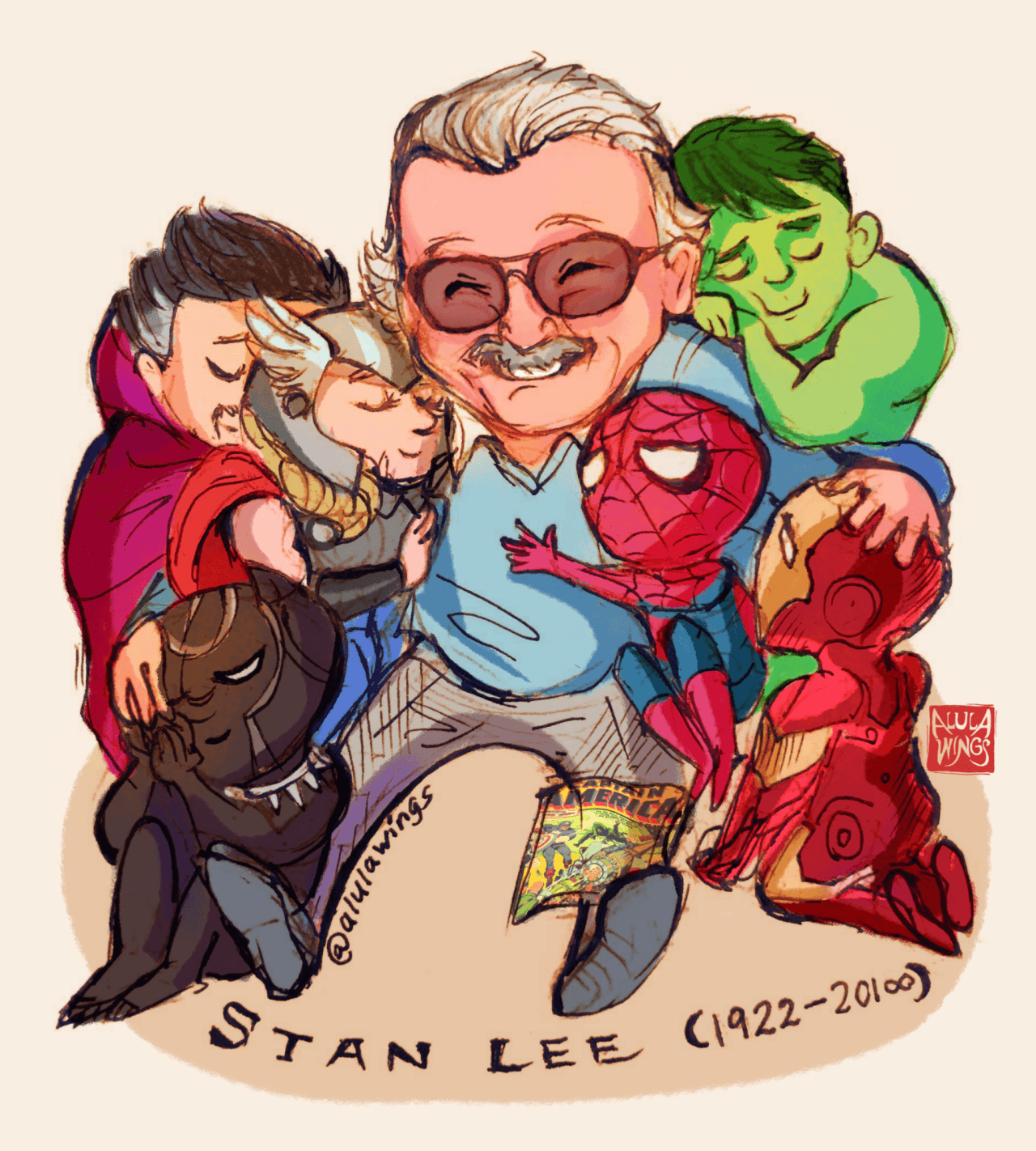 Image result for cool stan lee wallpaper