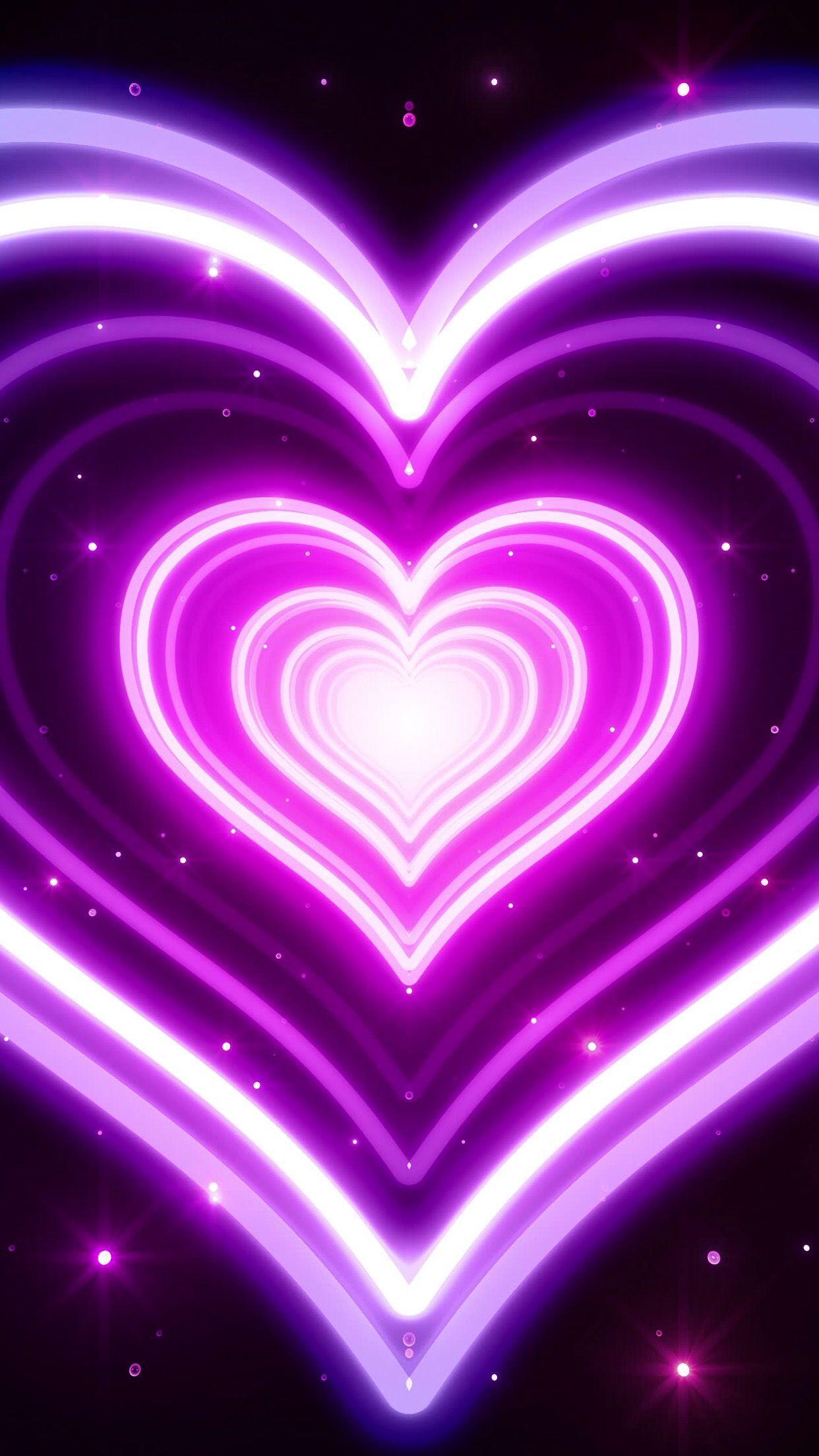 Neon Hearts Wallpapers - Wallpaper Cave