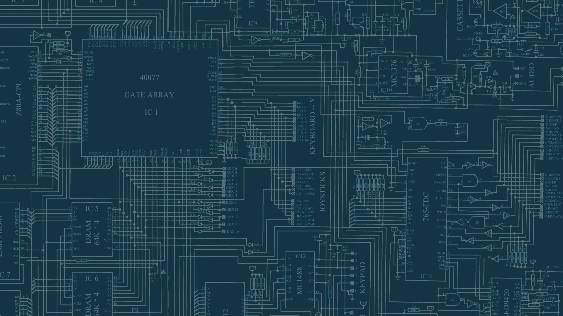 Electronics Circuits Wallpapers Wallpaper Cave