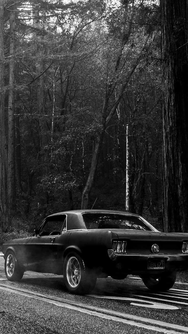 Black Classic Cars Wallpapers Wallpaper Cave