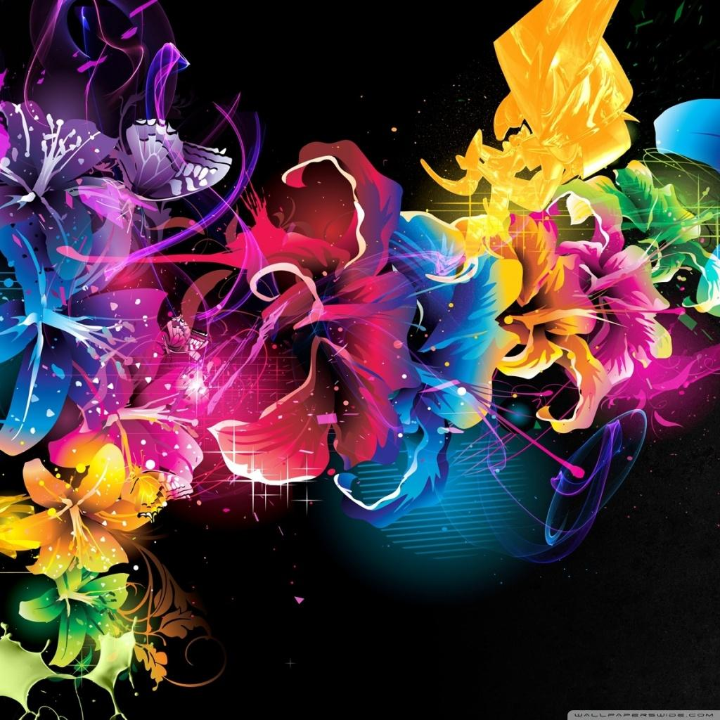 Colourful Flower Wallpapers