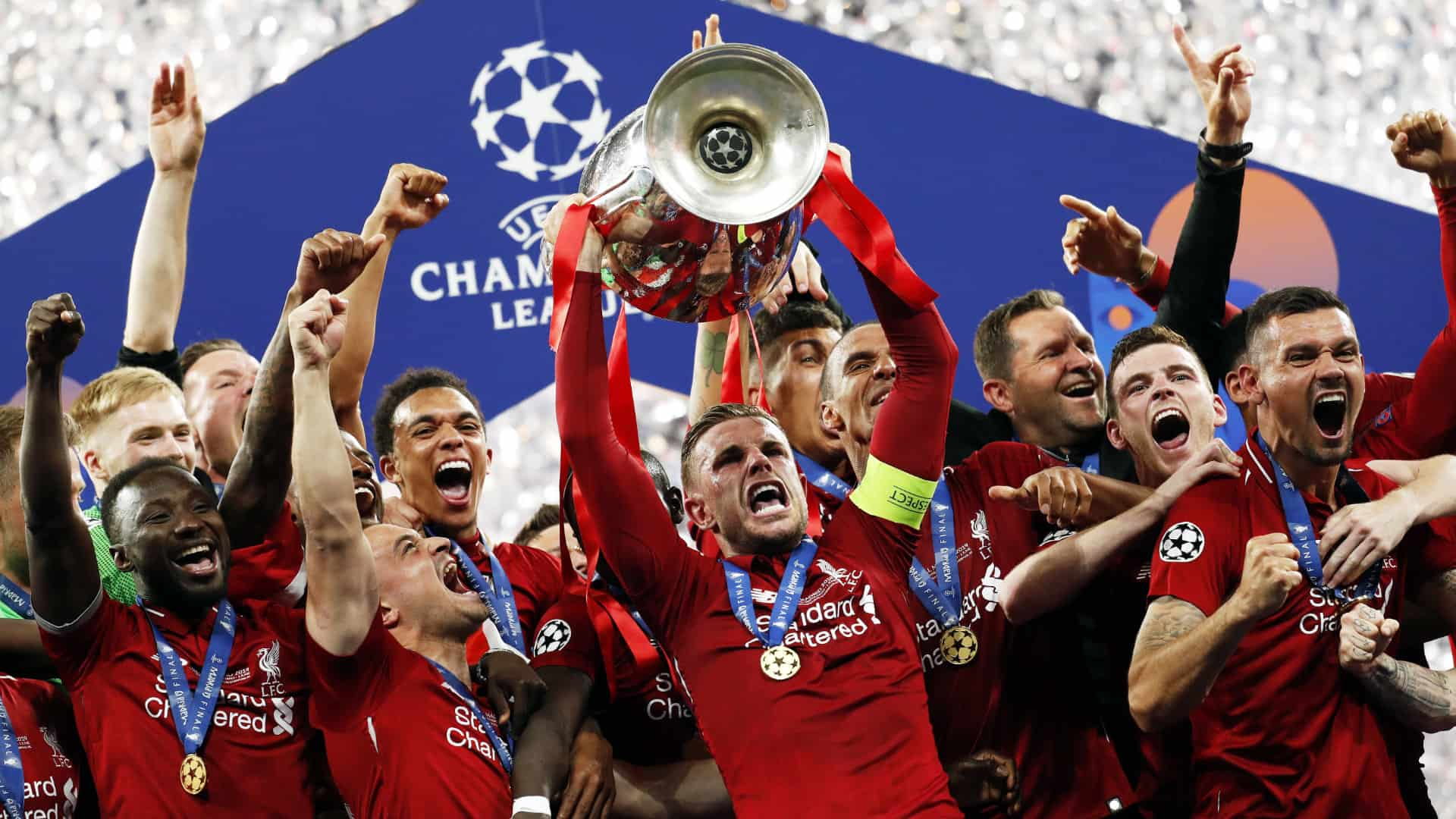 Liverpool Champions League Final 2019 Wallpapers Wallpaper Cave