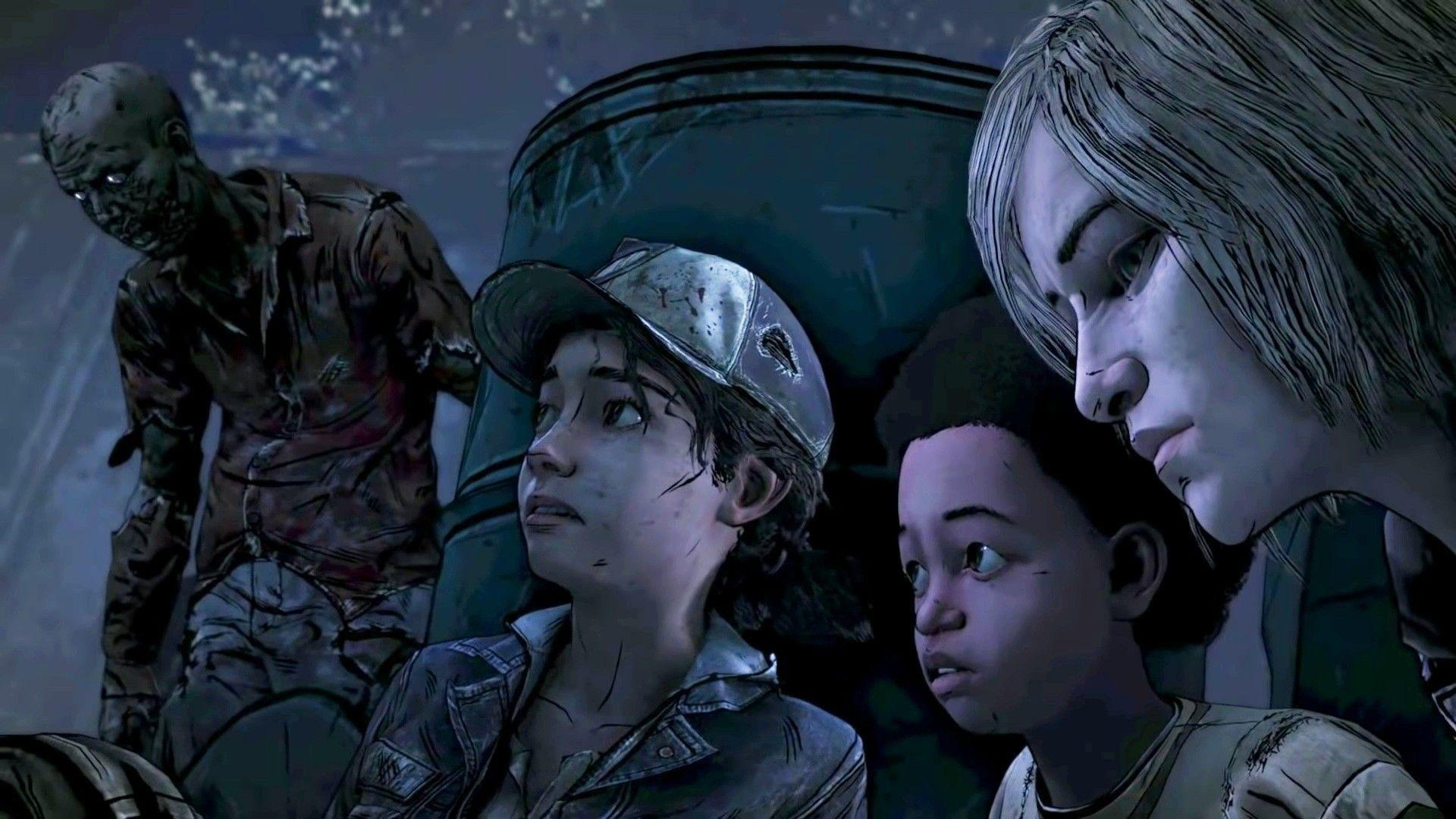 Violet And Clementine The Walking Dead Wallpapers