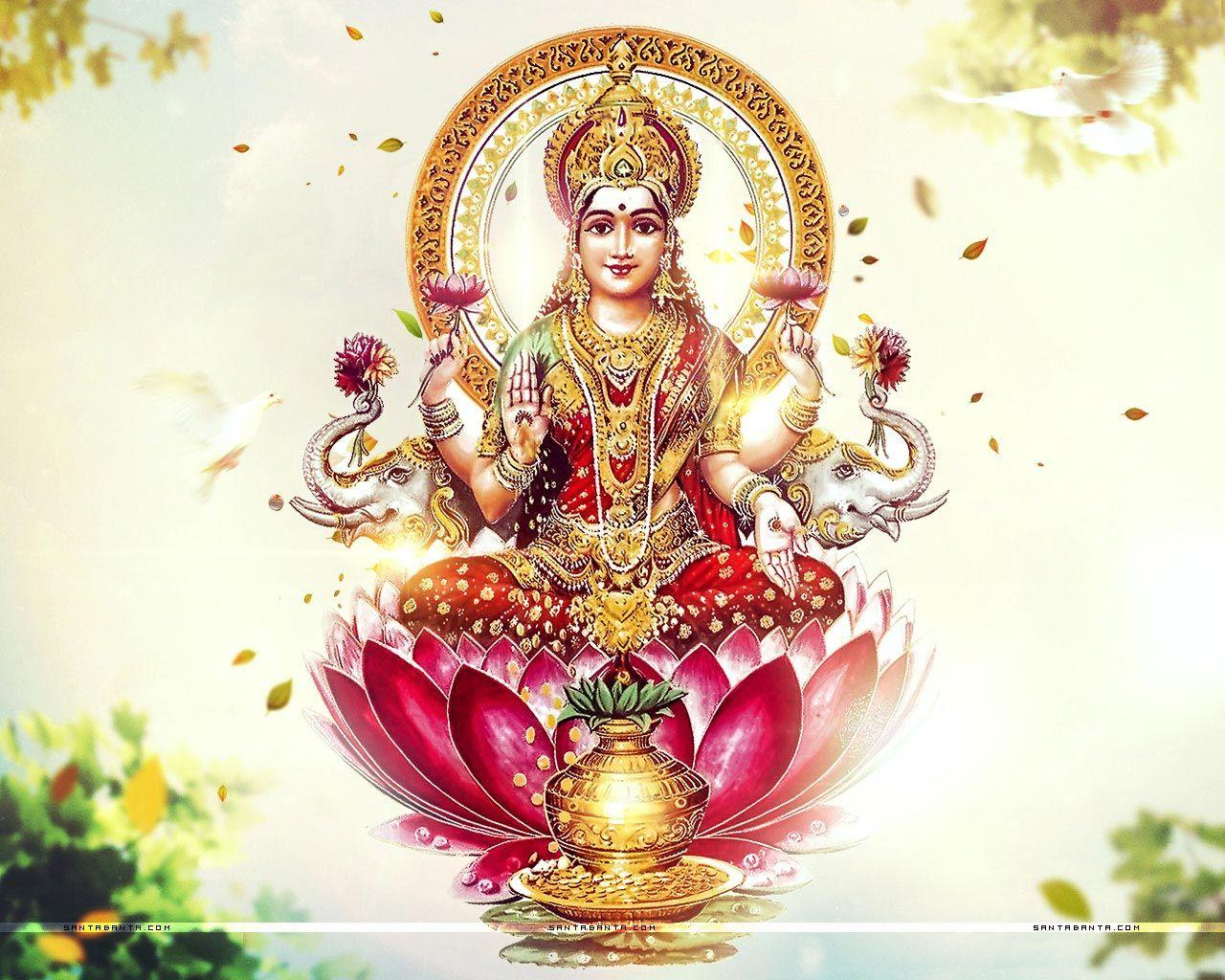 God Lakshmi Wallpapers Wallpaper Cave