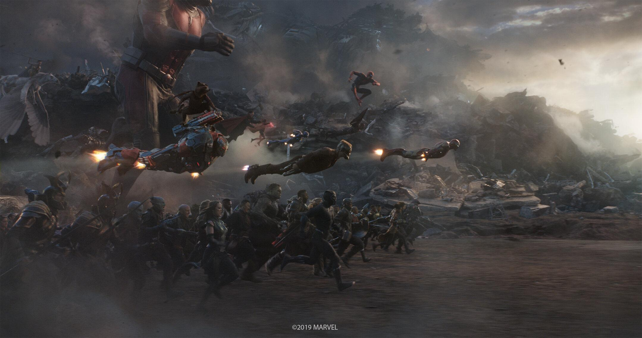 Captain America Vs Thanos Army Wallpapers Wallpaper Cave