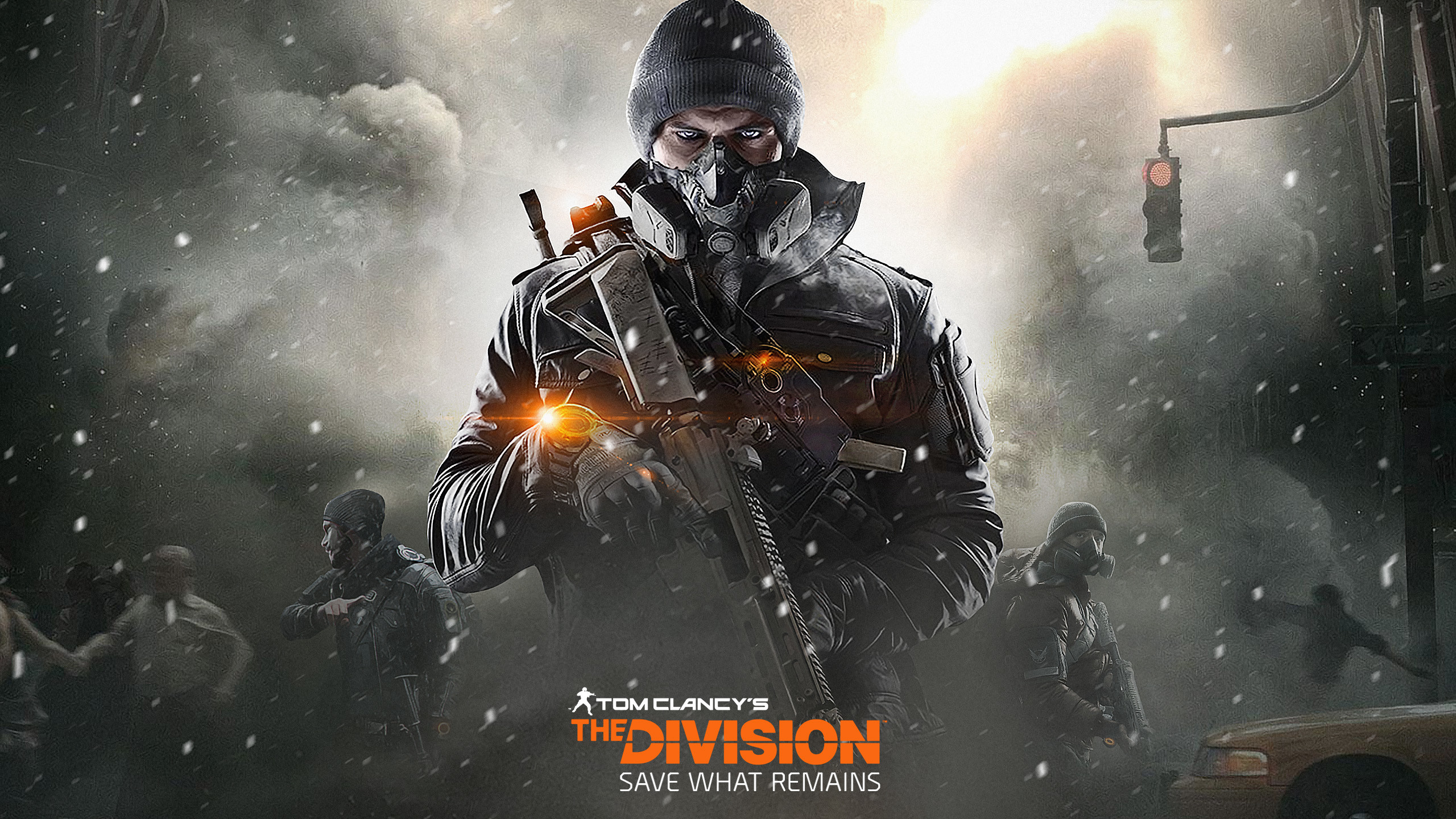 The Division Wallpaper 4k