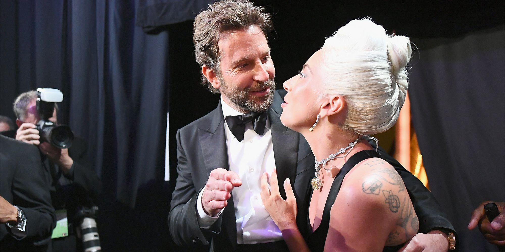 All of Lady Gaga and Bradley Cooper's Cutest Moments at the Oscars 2019
