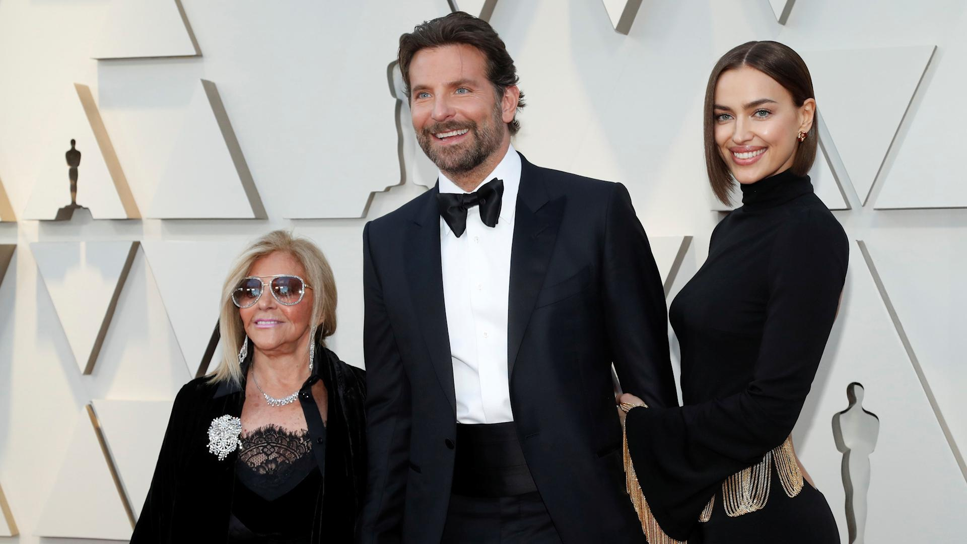Oscars 2019: Bradley Cooper walks red carpet with his mother Gloria