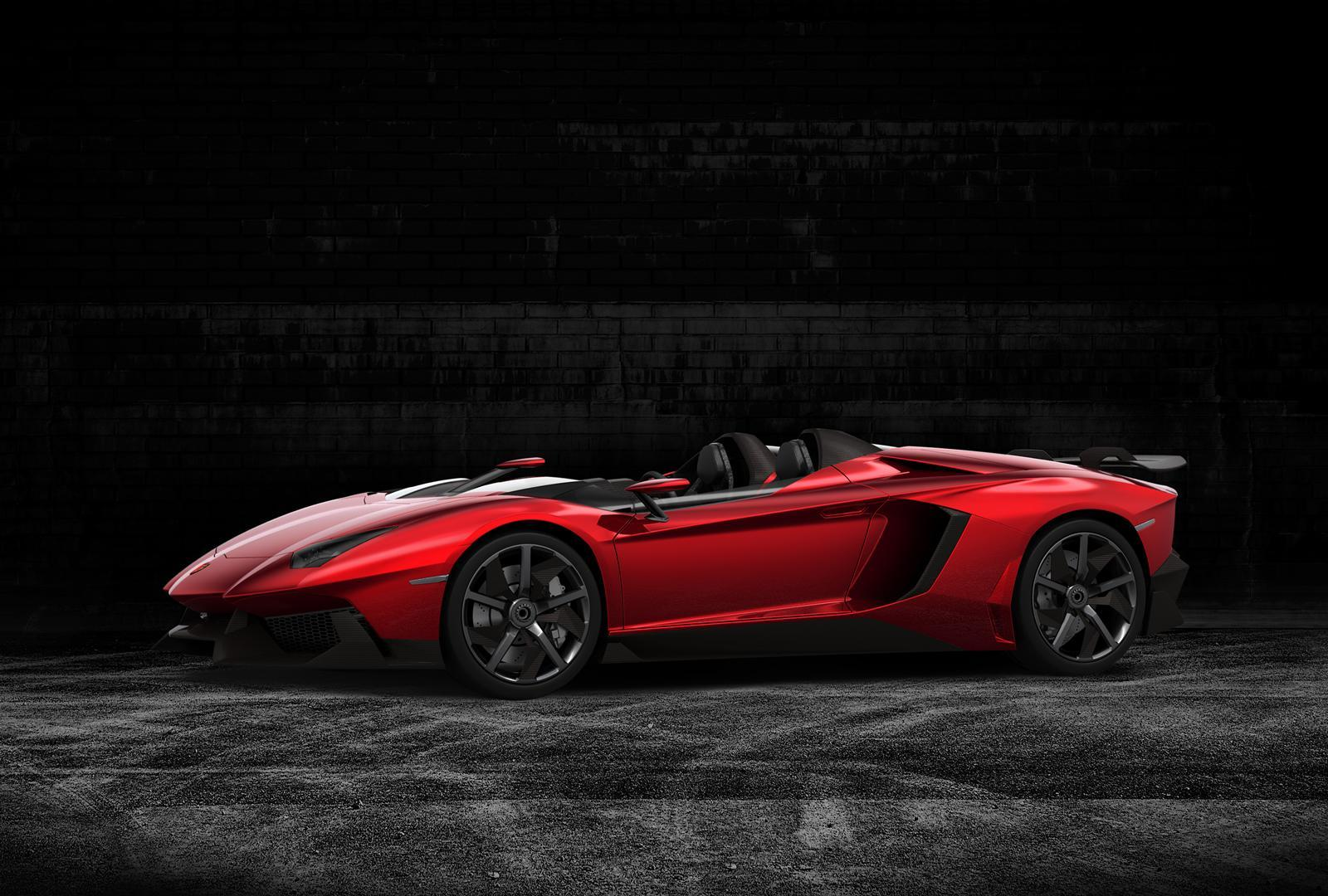 Lamborghini Aventador J 2012 2 Wallpapers