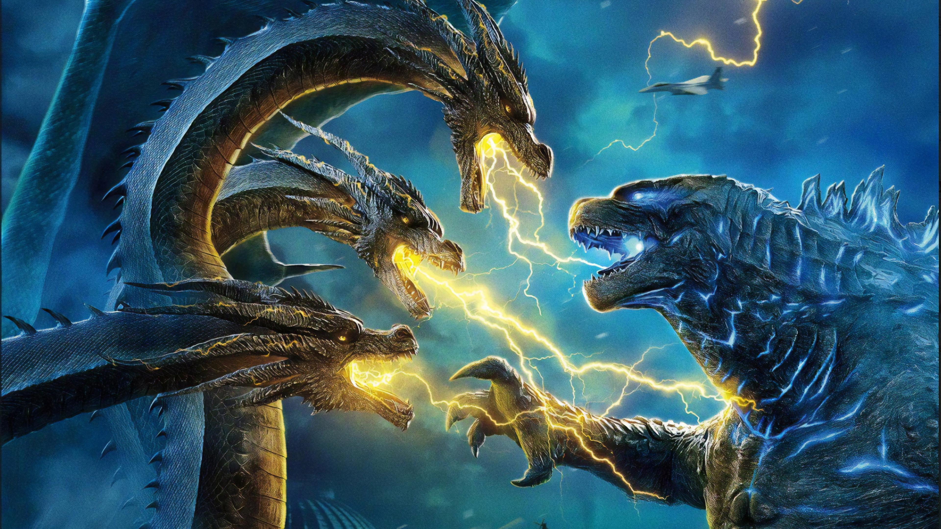 Godzilla Vs King Ghidorah Wallpapers Wallpaper Cave