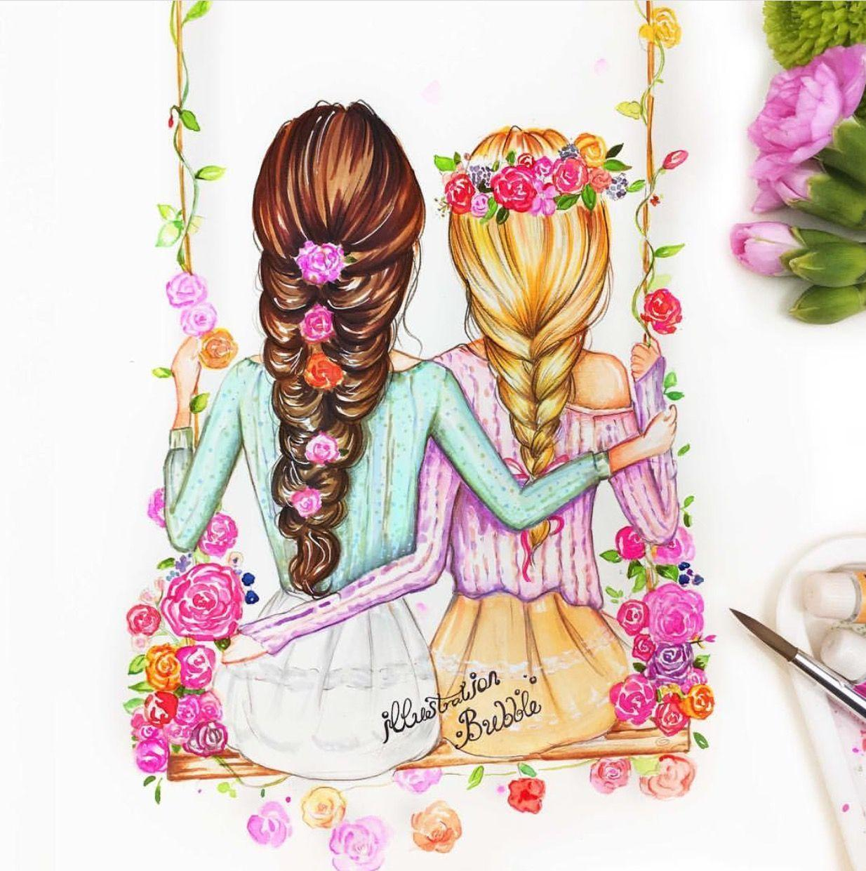Как рисовать открытку для сестры, словами
