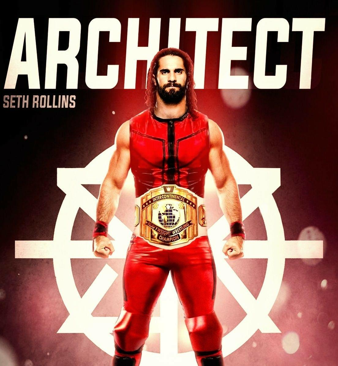 Seth Rollins Universal Champion Wallpapers Wallpaper Cave