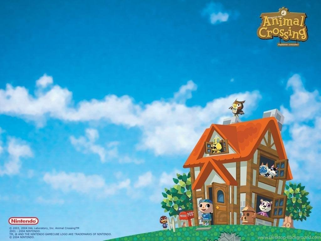 Animal Animal Crossing New Horizons Desktop Wallpaper