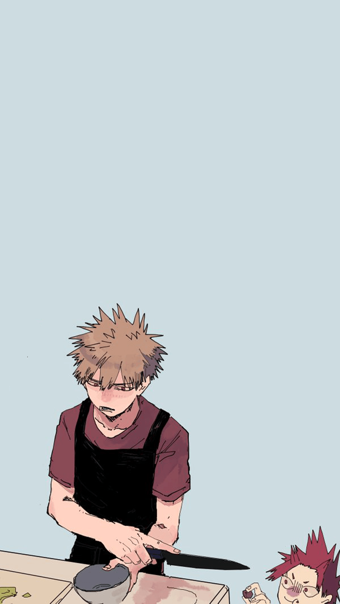 Aesthetic Bakugou Wallpapers Wallpaper Cave