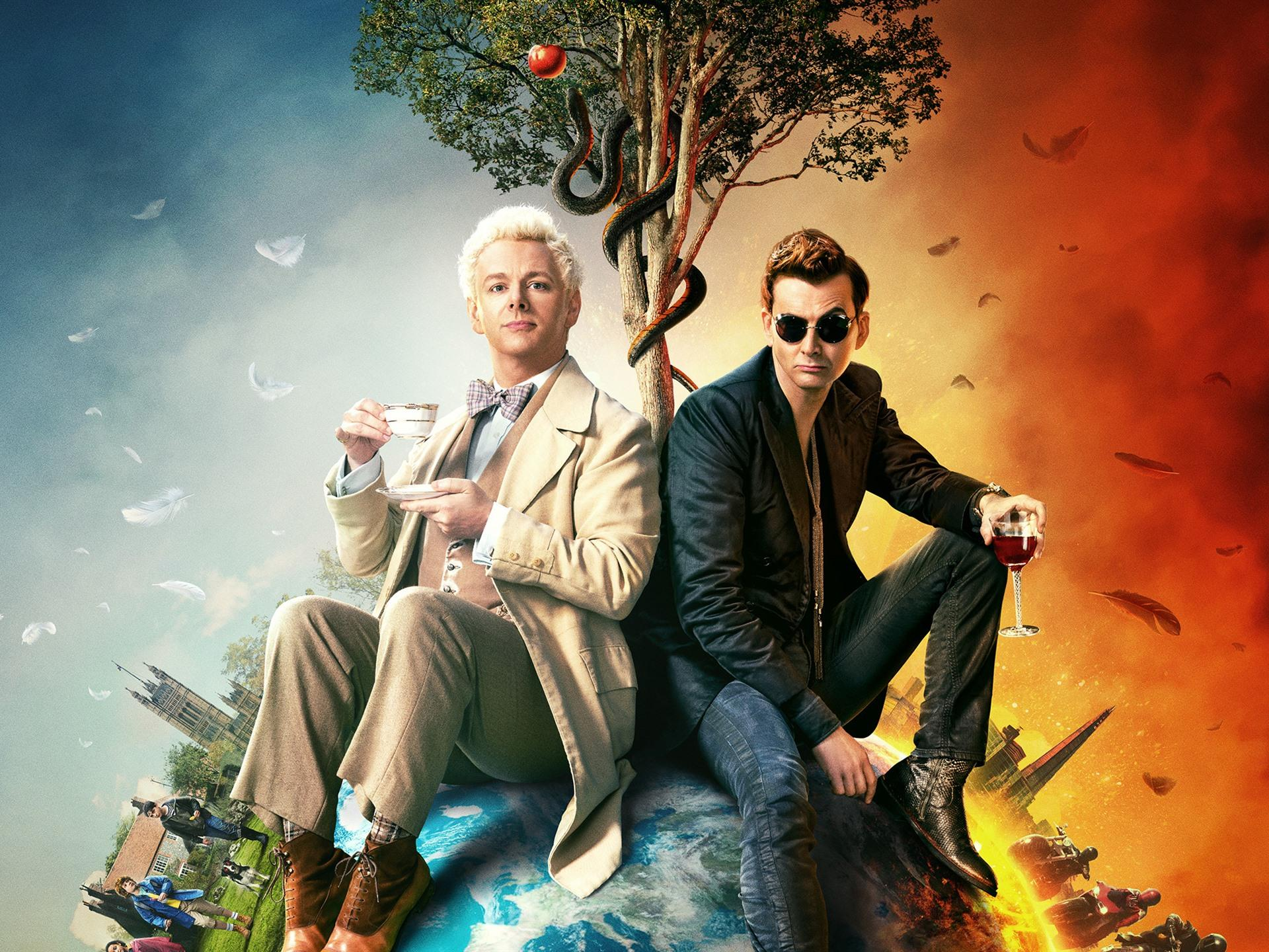 Good Omens Wallpapers - Wallpaper Cave