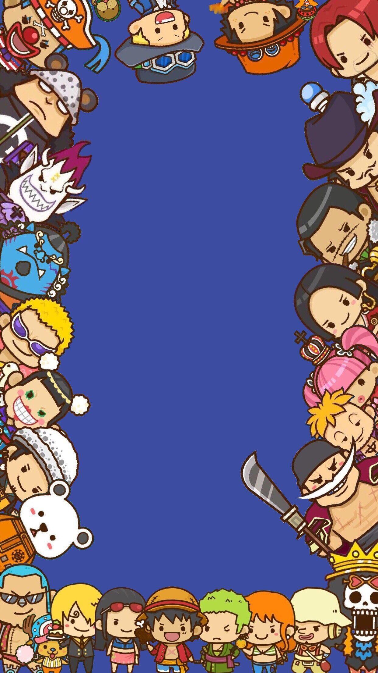 Iphone One Piece Logo Wallpaper Hd Doraemon