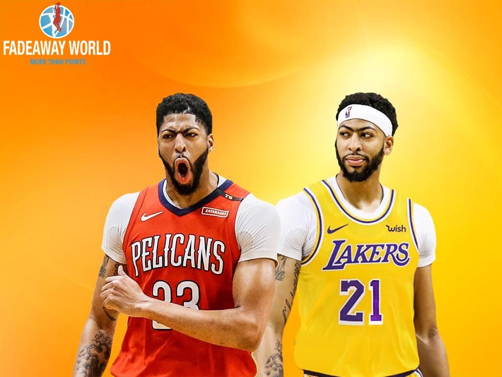 Anthony Davis Lakers Wallpapers Wallpaper Cave