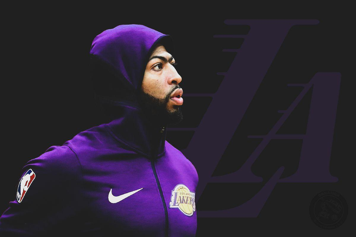 Anthony Davis Lakers Wallpapers - Wallpaper Cave