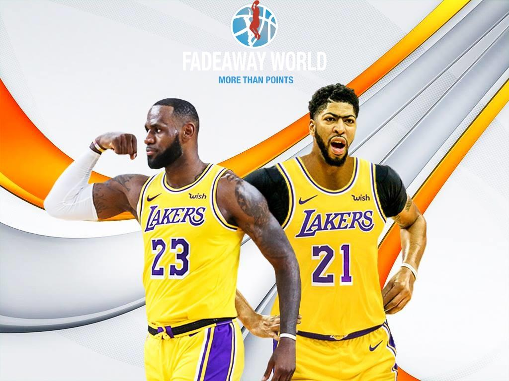 Lebron James And Anthony Davis Wallpapers Wallpaper Cave