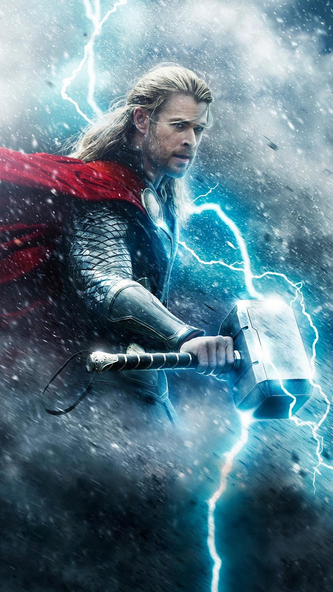 Thor Iphone Wallpapers Wallpaper Cave